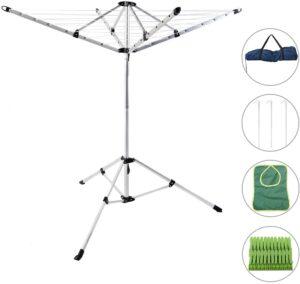 Dry natural Foldable Umbrella Drying Rack