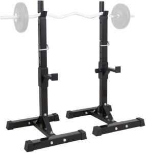 WEELOLOE Adjustable Squat Rack