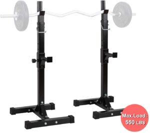ORISTUS Barbell Rack Stand Squat Rack