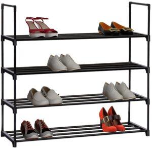 Homebi 4-Tier Shoe Rack