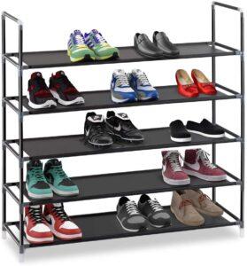 Halter 5-Tier Stackable Shoe Rack
