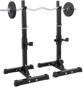 JungleA Adjustable Squat Rack