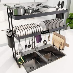 Over Sink Dish Drying Rack By Boosiny