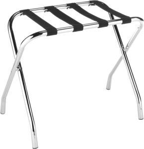 Whitmor Chrome Luggage Rack